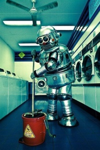 Cleaning-robot