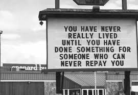 you have never really lived