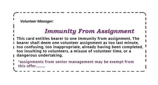 immunity from assignment coupon